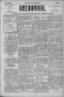 Orędownik: pismo dla spraw politycznych i społecznych 1904.10.02 R.34 Nr226