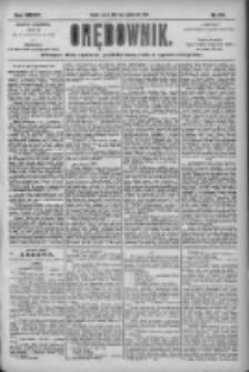Orędownik: pismo dla spraw politycznych i społecznych 1904.10.11 R.34 Nr233