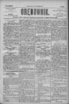 Orędownik: pismo dla spraw politycznych i społecznych 1904.10.12 R.34 Nr234