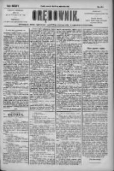 Orędownik: pismo dla spraw politycznych i społecznych 1904.10.13 R.34 Nr235