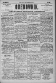 Orędownik: pismo dla spraw politycznych i społecznych 1904.10.20 R.34 Nr241
