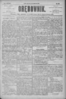 Orędownik: pismo dla spraw politycznych i społecznych 1904.10.21 R.34 Nr242