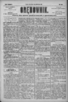 Orędownik: pismo dla spraw politycznych i społecznych 1904.10.22 R.34 Nr243