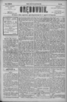 Orędownik: pismo dla spraw politycznych i społecznych 1904.11.01 R.34 Nr251