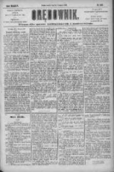 Orędownik: pismo dla spraw politycznych i społecznych 1904.11.08 R.34 Nr256