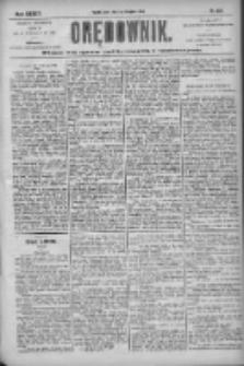 Orędownik: pismo dla spraw politycznych i społecznych 1904.11.09 R.34 Nr257