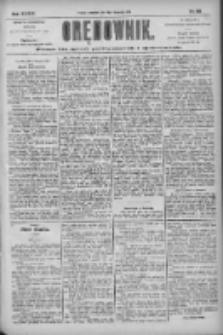 Orędownik: pismo dla spraw politycznych i społecznych 1904.11.10 R.34 Nr258