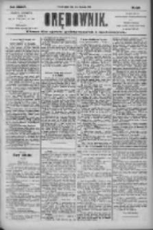 Orędownik: pismo dla spraw politycznych i społecznych 1904.11.11 R.34 Nr259
