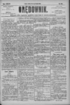 Orędownik: pismo dla spraw politycznych i społecznych 1904.11.13 R.34 Nr261