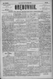 Orędownik: pismo dla spraw politycznych i społecznych 1904.11.20 R.34 Nr266