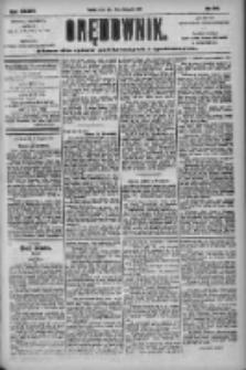 Orędownik: pismo dla spraw politycznych i społecznych 1904.11.23 R.34 Nr268