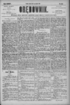 Orędownik: pismo dla spraw politycznych i społecznych 1904.12.07 R.34 Nr280