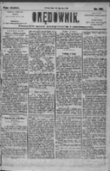 Orędownik: pismo dla spraw politycznych i społecznych 1905.07.11 R.35 Nr155
