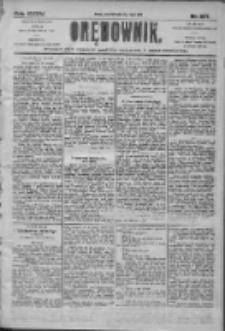 Orędownik: pismo dla spraw politycznych i społecznych 1905.07.13 R.35 Nr157