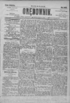 Orędownik: pismo dla spraw politycznych i społecznych 1905.07.19 R.35 Nr162