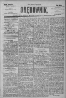 Orędownik: pismo dla spraw politycznych i społecznych 1905.07.21 R.35 Nr164
