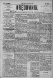 Orędownik: pismo dla spraw politycznych i społecznych 1905.07.23 R.35 Nr166