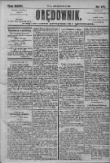 Orędownik: pismo dla spraw politycznych i społecznych 1905.07.29 R.35 Nr171