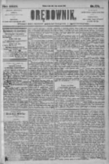 Orędownik: pismo dla spraw politycznych i społecznych 1905.08.02 R.35 Nr174