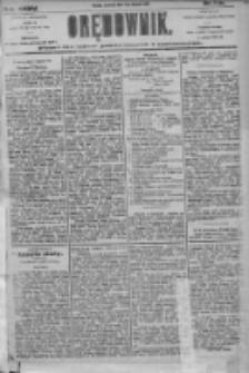 Orędownik: pismo dla spraw politycznych i społecznych 1905.08.03 R.35 Nr175
