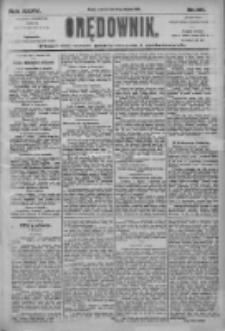 Orędownik: pismo dla spraw politycznych i społecznych 1905.08.10 R.35 Nr181