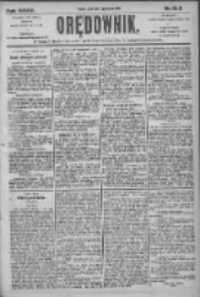Orędownik: pismo dla spraw politycznych i społecznych 1905.08.11 R.35 Nr182