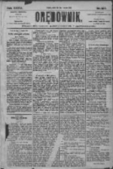 Orędownik: pismo dla spraw politycznych i społecznych 1905.08.18 R.35 Nr187