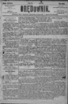 Orędownik: pismo dla spraw politycznych i społecznych 1905.08.19 R.35 Nr188