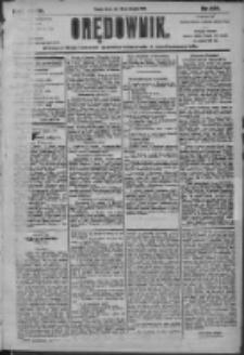 Orędownik: pismo dla spraw politycznych i społecznych 1905.08.23 R.35 Nr191