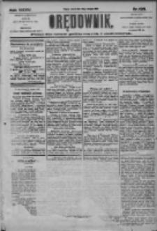 Orędownik: pismo dla spraw politycznych i społecznych 1905.08.29 R.35 Nr196