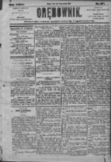 Orędownik: pismo dla spraw politycznych i społecznych 1905.08.30 R.35 Nr197