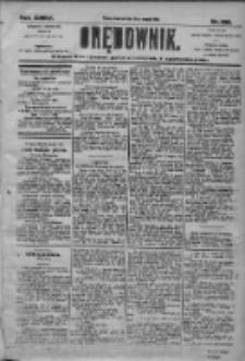 Orędownik: pismo dla spraw politycznych i społecznych 1905.08.31 R.35 Nr198