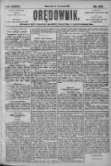 Orędownik: pismo dla spraw politycznych i społecznych 1905.09.15 R.35 Nr210