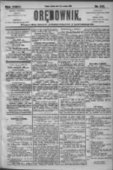 Orędownik: pismo dla spraw politycznych i społecznych 1905.09.17 R.35 Nr212