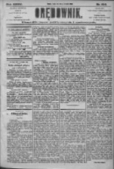 Orędownik: pismo dla spraw politycznych i społecznych 1905.09.20 R.35 Nr214