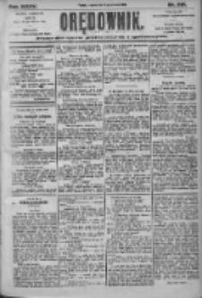 Orędownik: pismo dla spraw politycznych i społecznych 1905.09.21 R.35 Nr215