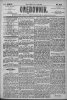 Orędownik: pismo dla spraw politycznych i społecznych 1905.09.24 R.35 Nr218