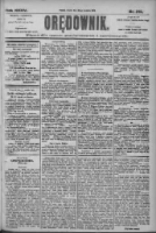 Orędownik: pismo dla spraw politycznych i społecznych 1905.09.26 R.35 Nr219