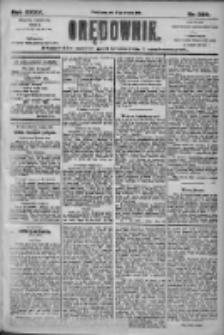 Orędownik: pismo dla spraw politycznych i społecznych 1905.09.27 R.35 Nr220