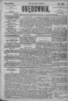 Orędownik: pismo dla spraw politycznych i społecznych 1905.09.29 R.35 Nr222