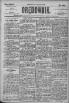 Orędownik: pismo dla spraw politycznych i społecznych 1905.10.08 R.35 Nr230