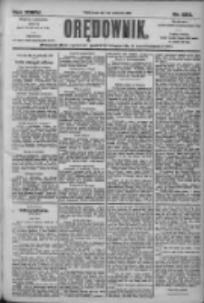 Orędownik: pismo dla spraw politycznych i społecznych 1905.10.11 R.35 Nr232