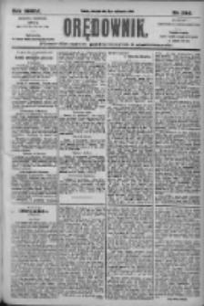 Orędownik: pismo dla spraw politycznych i społecznych 1905.10.12 R.35 Nr233
