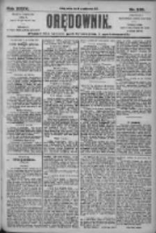 Orędownik: pismo dla spraw politycznych i społecznych 1905.10.14 R.35 Nr235