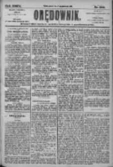 Orędownik: pismo dla spraw politycznych i społecznych 1905.10.15 R.35 Nr236