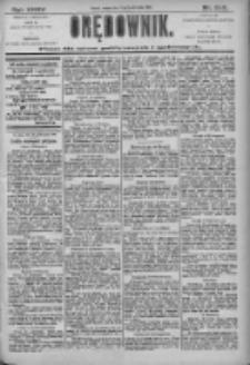 Orędownik: pismo dla spraw politycznych i społecznych 1905.10.31 R.35 Nr249