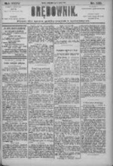 Orędownik: pismo dla spraw politycznych i społecznych 1905.11.01 R.35 Nr250