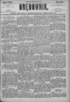 Orędownik: pismo dla spraw politycznych i społecznych 1905.11.04 R.35 Nr252