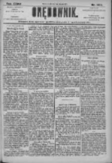 Orędownik: pismo dla spraw politycznych i społecznych 1905.11.07 R.35 Nr254