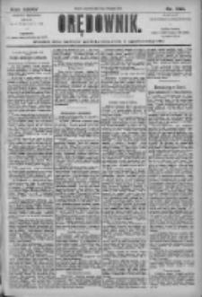 Orędownik: pismo dla spraw politycznych i społecznych 1905.11.09 R.35 Nr256